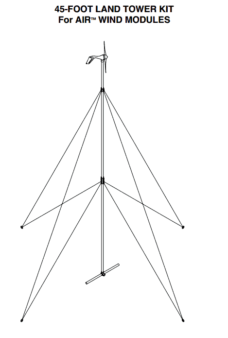 Primus Windpower 45' Air Tower Kit