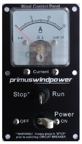 Primus Windpower Wind Control Panel 2-ARAC-107