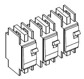 Schneider Conext 120/240VAC Breaker Kit - 3 2-pole 60a