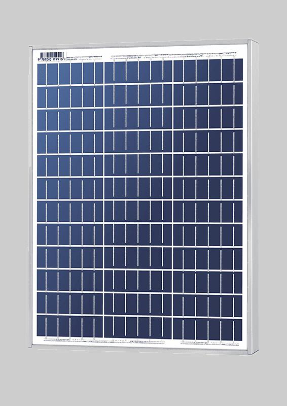 Solarland SLP050-12U Silver Poly 12 Volt Solar Panel