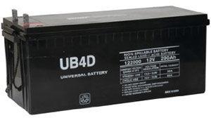 UPG UB-4D AGM Battery