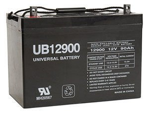 UPG UB12900 AGM Battery