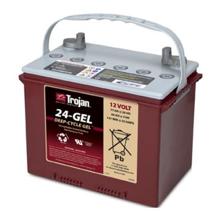 1 kWh Trojan 12V Sealed Gel Battery 24-Gel