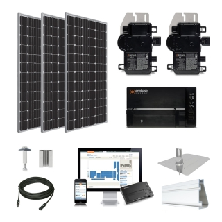 10.3kW solar kit Trina 370 XL, Enphase Micro-inverter