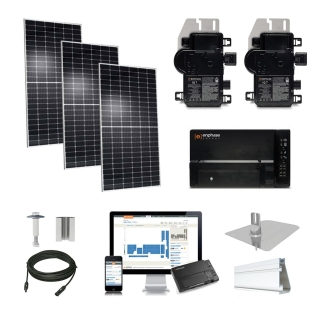 10kW solar kit Q.Cells 400 XL, Enphase Micro-inverter