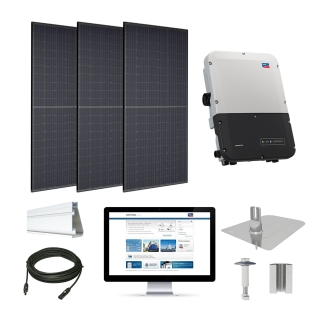 11.1kW solar kit Trina 310, SMA inverter