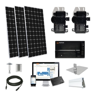 11.2kW solar kit Mission 375 XL, Enphase Micro-inverter