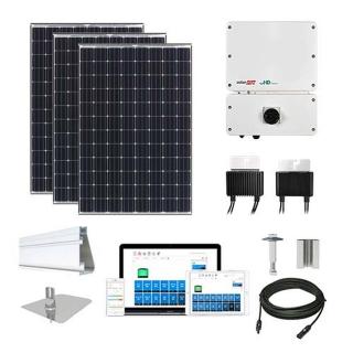 11.5 kW Solar Kit Tesla 330, SolarEdge Optimizer