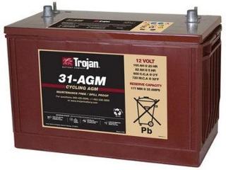1.2 kWh Trojan 12V Sealed AGM Battery 31-AGM