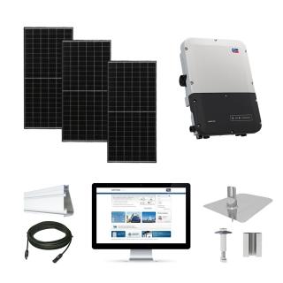 12.1kW solar kit Axitec 320, SMA inverter