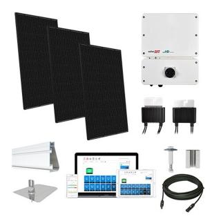 12.4kW solar kit Mission 310, SolarEdge HD optimizers