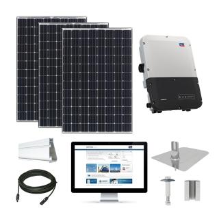 12.5kW Solar Kit Panasonic 330, SMA Inverter