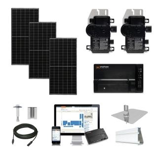 1.2kW solar kit Axitec 320, Enphase Micro-inverter