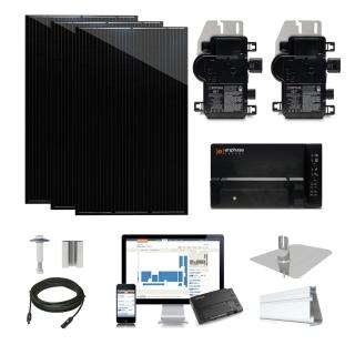 1.2kW solar kit Q.Cells 320, Enphase Micro-inverter