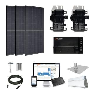 1.2kW solar kit Trina 310, Enphase Micro-inverter
