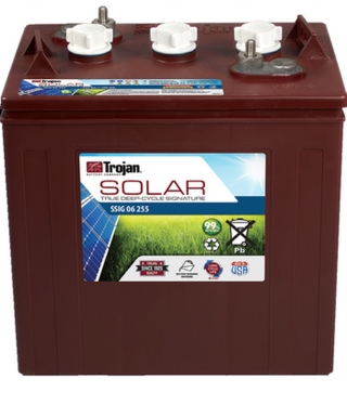 1.4 kWh Trojan 6V Signature Flooded Battery SSIG 06 255