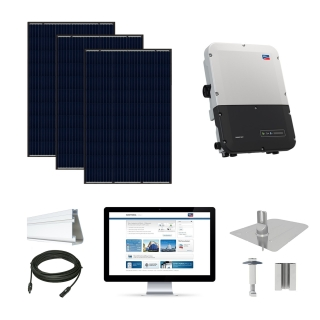 15.1kW solar kit VSUN 310, SMA inverter