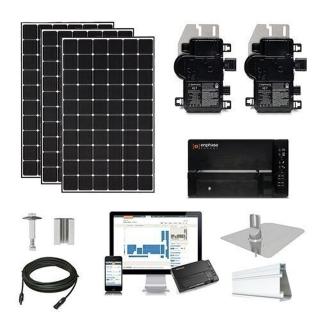 15.2kW solar kit CSUN 390 XL, Enphase micros