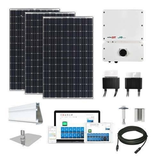 15.5 kW Solar Kit Panasonic 330, SolarEdge Optimizer