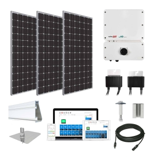 15.5kW solar kit Trina 370 XL, SolarEdge HD inverter