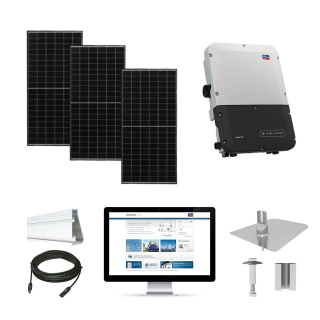 15kW solar kit Axitec 320, SMA inverter