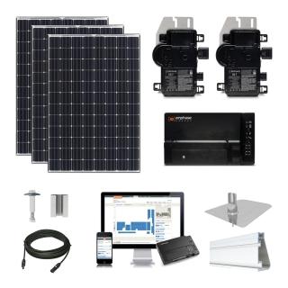 20 kW Solar Kit Panasonic 330, Enphase IQ7X