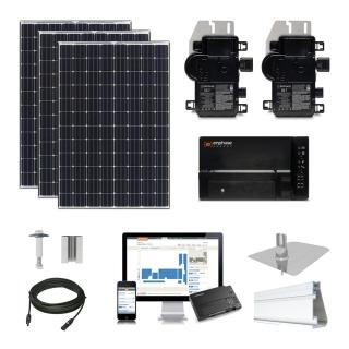 20 kW Solar Kit Tesla 330, Enphase IQ7X