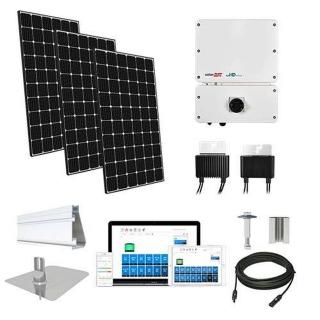 20.2kW solar kit CSUN 390 XL, SolarEdge optimizers