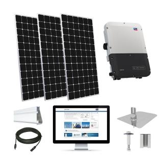 20.2kW solar kit Mission 375 XL, SMA inverter