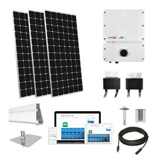 20.2kW solar kit Mission 375 XL, SolarEdge HD optimizers