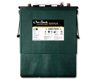 21.4 kWh Outback Power 48V Flooded Battery EnergyCell 48-FLA-525