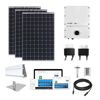 25.7 kW Solar Kit Tesla 330, SolarEdge Optimizer