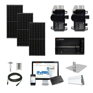 2.5kW solar kit Axitec 320, Enphase Micro-inverter