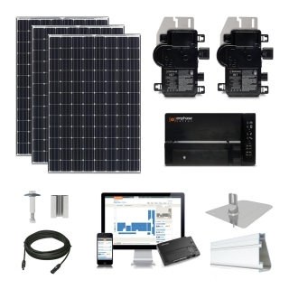 2.6 kW Solar Kit Panasonic 330, Enphase IQ7X
