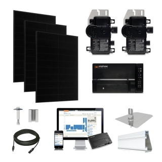 30.2kW Solaria 360 kit, Enphase Micro-inverter