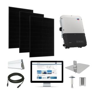 30.2kW Solaria 360 kit, SMA inverter