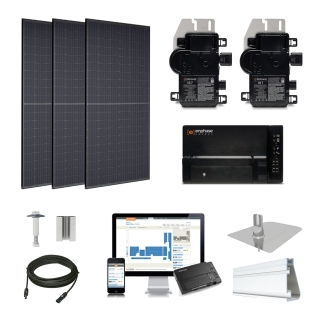 4.3kW solar kit Trina 310, Enphase Micro-inverter