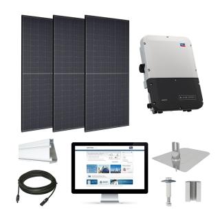 4.3kW solar kit Trina 310, SMA inverter