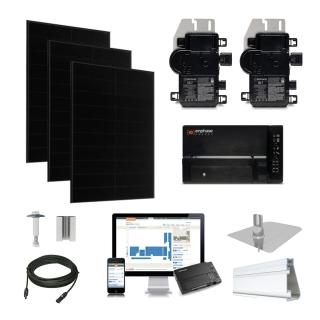 4.3kW Solaria 360 kit, Enphase Micro-inverter
