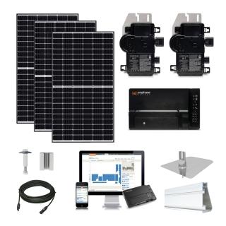4.5kW solar kit Canadian 320, Enphase micro-inverter