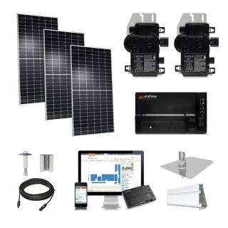 4kW solar kit Q.Cells 400 XL, Enphase Micro-inverter