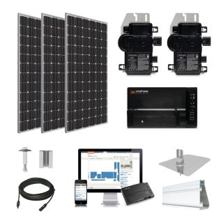 4kW solar kit Trina 370 XL, Enphase Micro-inverter