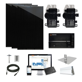 5.1kW solar kit Q.Cells 320, Enphase Micro-inverter