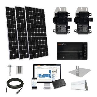 5.2kW solar kit Mission 375 XL, Enphase Micro-inverter