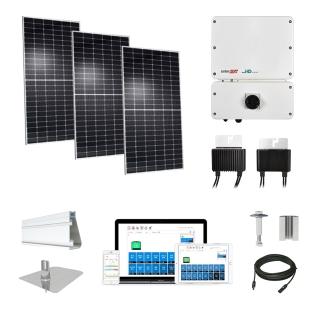 6.2kW solar kit Hyundai 370 XL, SolarEdge HD optimizers