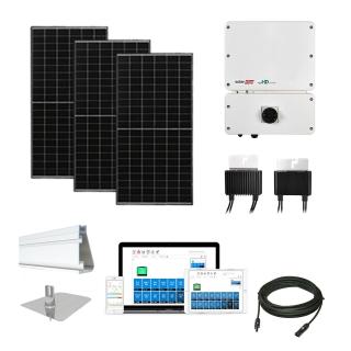 6.4kW solar kit Axitec 320, SolarEdge HD optimizers