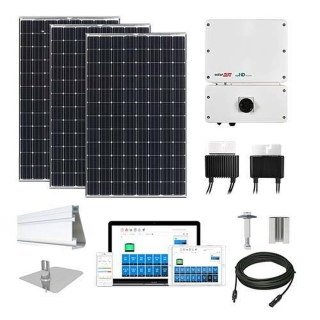 6.6kW Solar Kit Panasonic 330, SolarEdge Optimizer