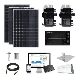 7.2 kW Solar Kit Panasonic 330, Enphase IQ7X