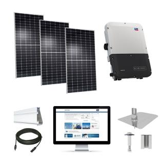 7.4kW solar kit Hyundai 370 XL, SMA inverter
