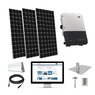 7.5kW solar kit Mission 375 XL, SMA inverter